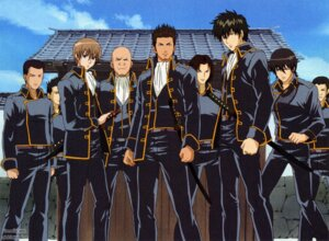 Rating: Safe Score: 5 Tags: gintama hijikata_toushirou kondou_isao male okita_sougo screening shinsengumi yamazaki_sagaru User: Davison