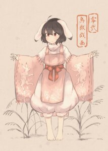 Rating: Safe Score: 11 Tags: animal_ears bunny_ears inaba_tewi inazakura00 japanese_clothes touhou User: Mr_GT