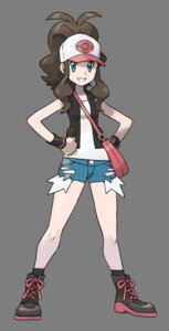 Rating: Safe Score: 28 Tags: nintendo pokemon pokemon_black_and_white sugimori_ken touko_(pokemon) transparent_png User: Radioactive