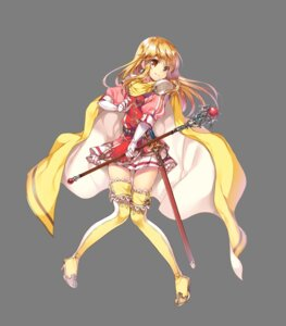 Rating: Safe Score: 31 Tags: armor fire_emblem:_seisen_no_keifu heels lachesis_(fire_emblem) miwabe_sakura sword thighhighs transparent_png weapon User: blooregardo