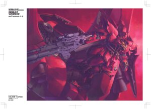 Rating: Safe Score: 16 Tags: gun gundam gundam_unicorn katoki_hajime mecha sinanju weapon User: rx178aeug