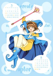 Rating: Safe Score: 7 Tags: calendar card_captor_sakura kinomoto_sakura madhouse tagme weapon User: Omgix