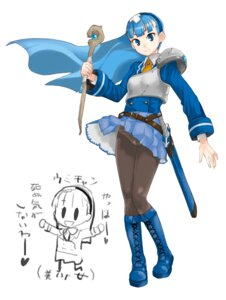 Rating: Safe Score: 5 Tags: magic_knight_rayearth pantsu pantyhose ryuuzaki_umi teriyaki User: shiokara