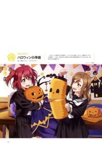 Rating: Safe Score: 15 Tags: halloween inou_shin kunikida_hanamaru kurosawa_ruby love_live!_sunshine!! seifuku User: drop