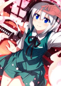 Rating: Safe Score: 17 Tags: konpaku_youmu myon sazanami_mio sword touhou User: Mr_GT