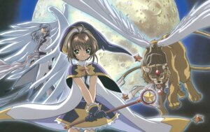Rating: Safe Score: 3 Tags: card_captor_sakura kerberos kinomoto_sakura madhouse weapon wings yue User: Omgix
