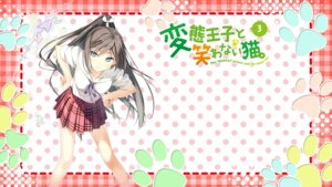 Rating: Questionable Score: 43 Tags: hentai_ouji_to_warawanai_neko kantoku seifuku tsutsukakushi_tsukushi wallpaper User: SHM222