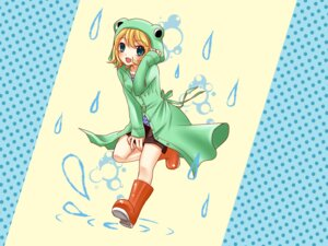 Rating: Safe Score: 12 Tags: kagamine_rin vocaloid wallpaper yayoi User: Nekotsúh