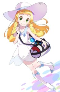 Rating: Questionable Score: 21 Tags: cosmog dress heels lillie_(pokemon) pokemon pokemon_sm see_through yupiteru User: cosmic+T5