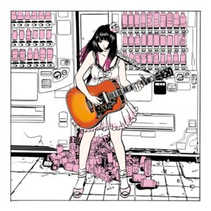 Rating: Safe Score: 15 Tags: disc_cover dress eguchi_hisashi guitar heels User: saemonnokami