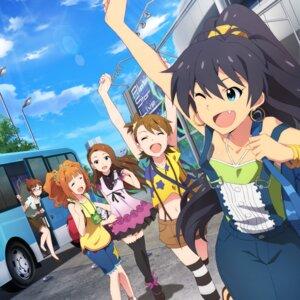 Rating: Safe Score: 16 Tags: akizuki_ritsuko digital_version disc_cover dress futami_ami ganaha_hibiki megane minase_iori takatsuki_yayoi the_idolm@ster the_idolm@ster_million_live! thighhighs User: Anonymous