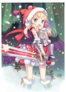 Rating: Safe Score: 20 Tags: armor christmas h2so4 island_of_horizon sword tagme User: kiyoe