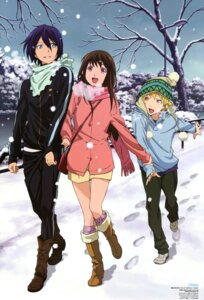 Rating: Safe Score: 46 Tags: iki_hiyori komori_hideto noragami yato yukine User: drop