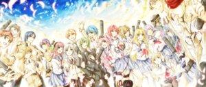 Rating: Safe Score: 12 Tags: angel_beats! chaa fujimaki hinata_(angel_beats!) hisako irie_(angel_beats!) iwasawa matsushita naoi_ayato noda ooyama otonashi robata seifuku sekine shiina takamatsu takeyama tenshi thighhighs tk_(angel_beats!) yui_(angel_beats!) yurippe yusa User: fairyren