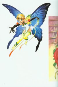 Rating: Safe Score: 3 Tags: fairy pointy_ears shikidouji thighhighs wings User: Feito