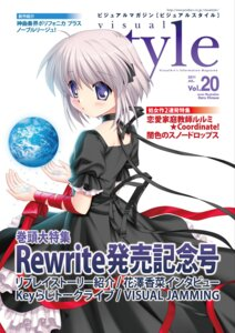 Rating: Safe Score: 9 Tags: hinoue_itaru kagari_(rewrite) rewrite User: Morking