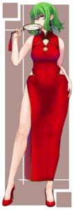 Rating: Safe Score: 15 Tags: chinadress cleavage haiiro_gundan heels kazami_yuuka tagme touhou User: Mr_GT