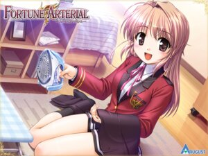Rating: Safe Score: 26 Tags: august bekkankou fortune_arterial seifuku wallpaper yuuki_haruna User: dlnm