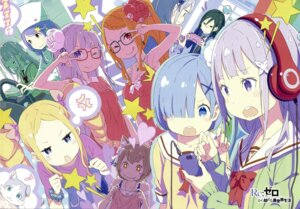 Rating: Safe Score: 71 Tags: anastasia_hoshin animal_ears beatrice_(re_zero) cleavage crusch_karsten emilia_(re_zero) ferris_(re_zero) gashin headphones lolita_fashion megane neko pack_(re_zero) priscilla_barielle re_zero_kara_hajimeru_isekai_seikatsu rem_(re_zero) seifuku sweater User: kiyoe