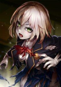 Rating: Safe Score: 34 Tags: cafe_no_zombi-ko kitano_tomotoshi seifuku torn_clothes zombi-ko_channel User: Mr_GT