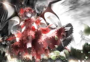 Rating: Safe Score: 27 Tags: asuka_(moto) izayoi_sakuya remilia_scarlet touhou wings User: Mr_GT