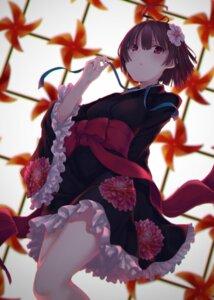 Rating: Safe Score: 70 Tags: kimono koutetsujou_no_kabaneri monobe_tsukuri mumei User: Mr_GT
