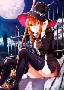 Rating: Questionable Score: 77 Tags: arisaka_ako thighhighs witch User: 麻里子