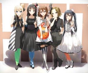 Rating: Explicit Score: 37 Tags: akiyama_mio dress guitar hirasawa_yui k-on! kotobuki_tsumugi nakano_azusa pantyhose pentagon_(railgun_ky1206) tainaka_ritsu thighhighs User: Mr_GT