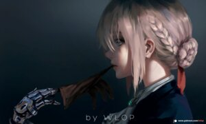 Rating: Safe Score: 42 Tags: mecha_musume violet_evergarden violet_evergarden_(character) wlop User: Spidey