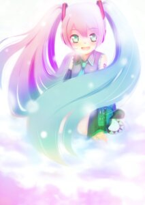 Rating: Safe Score: 3 Tags: hatsune_miku lino-lin vocaloid User: charunetra