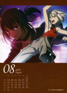 Rating: Safe Score: 8 Tags: alphard calendar canaan canaan_(character) takeuchi_takashi type-moon User: Kalafina
