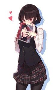 Rating: Safe Score: 34 Tags: megaten nian niijima_makoto pantyhose persona persona_5 seifuku User: RyuZU