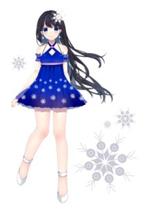 Rating: Safe Score: 22 Tags: cleavage dress shika_yuno User: KazukiNanako