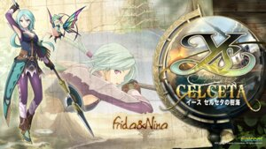 Rating: Safe Score: 12 Tags: fairy falcom wallpaper weapon ys ys:_foliage_ocean_in_celceta User: beitiao