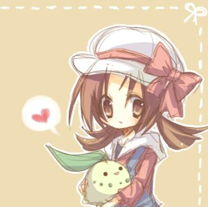 Rating: Safe Score: 16 Tags: chikorita kanro kotone_(pokemon) pokemon User: Radioactive