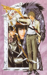 Rating: Safe Score: 2 Tags: death_note misora_naomi obata_takeshi ryuk yagami_light User: Radioactive