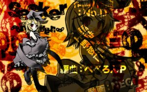 Rating: Safe Score: 5 Tags: kagamine_rin ulogbe vocaloid wallpaper User: yumichi-sama