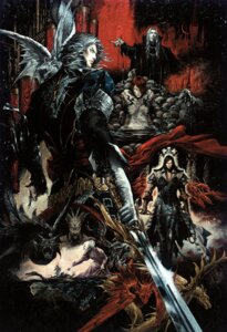 Rating: Safe Score: 12 Tags: castlevania castlevania:_curse_of_darkness dracula hector isaac kojima_ayami konami rosaly sword the_end trevor_belmont weapon User: Radioactive