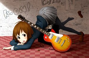 Rating: Safe Score: 27 Tags: hirasawa_yui k-on! okamocheese pantyhose seifuku User: shiokara