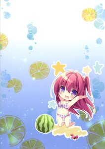 Rating: Questionable Score: 9 Tags: bikini chibi matsurija nanaroba_hana swimsuits tagme User: kiyoe
