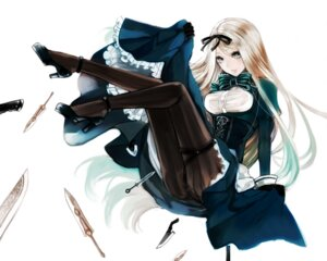 Rating: Safe Score: 35 Tags: apt belarus dress heels hetalia_axis_powers nopan pantyhose skirt_lift weapon User: Mr_GT