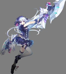 Rating: Safe Score: 106 Tags: compile_heart fairyfencer_f lolita_fashion thighhighs tiara_(fairyfencer_f) transparent_png tsunako weapon User: zhihou