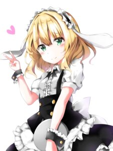Rating: Safe Score: 18 Tags: gochuumon_wa_usagi_desu_ka? kirima_sharo maid tagme waitress User: saemonnokami