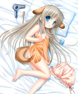 Rating: Questionable Score: 22 Tags: animal_ears ass inumimi key kud_wafter little_busters! loli na-ga naked noumi_kudryavka tail towel User: marechal