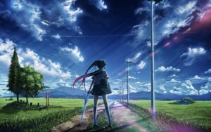 Rating: Safe Score: 64 Tags: bokuden landscape seifuku User: blooregardo
