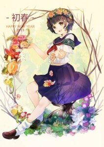 Rating: Safe Score: 31 Tags: seifuku sheska_xue to_aru_kagaku_no_railgun to_aru_majutsu_no_index uiharu_kazari User: fairyren