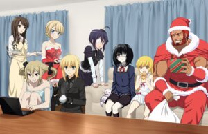 Rating: Safe Score: 30 Tags: another bakemonogatari christmas chuunibyou_demo_koi_ga_shitai! cleavage crossover darjeeling fate/stay_night fate/zero girls_und_panzer iyakun k koujiro_frau mikami_reiko_(another) misaki_mei neko_(k) oshino_shinobu rider_(fate/zero) robotics;notes saber takanashi_rikka User: Radioactive