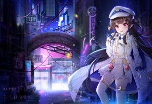 Rating: Safe Score: 20 Tags: garter hachiroku maitetsu miaoguujuun_qvq thighhighs uniform User: Mr_GT