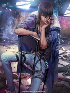 Rating: Safe Score: 24 Tags: furyou_michi_~gang_road~ male smoking soo_kyung_oh User: mash