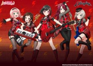 Rating: Safe Score: 17 Tags: aoba_moca bang_dream! fishnets garter guitar hazawa_tsugumi heels mitake_ran pantyhose stockings tagme thighhighs udagawa_tomoe uehara_himari User: saemonnokami